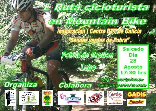 I Ruta Cicloturista Cartel15