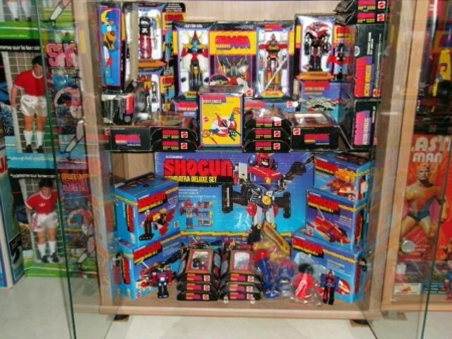 La collection de Shogun Warriors Chambr77