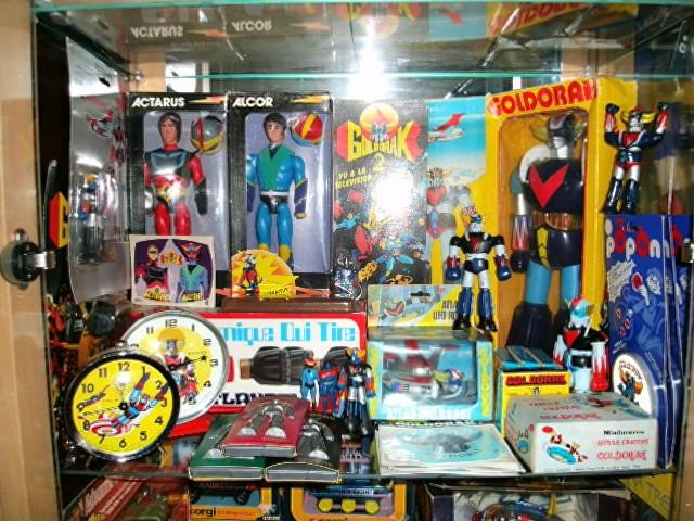 La collection de Shogun Warriors Chambr87