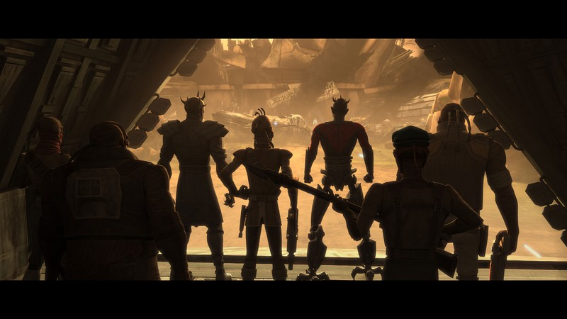 Screenshot de Clone en regardant Star Wars Clone Wars Acw_ia17