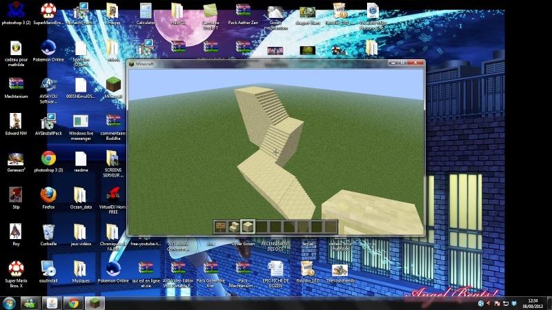 Vos creations sur Minecraft - Page 4 Escali10