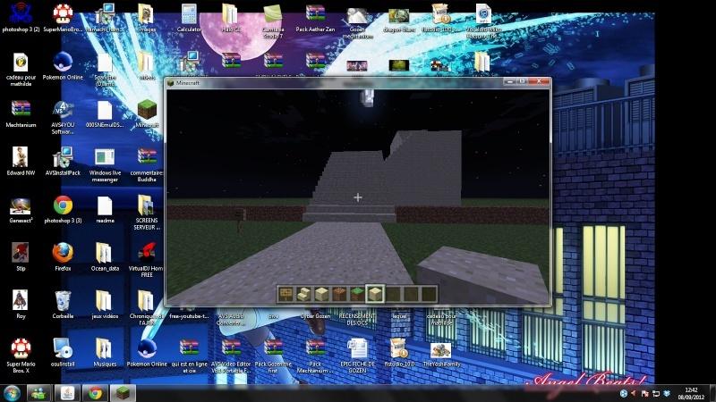 Vos creations sur Minecraft - Page 4 Escali11