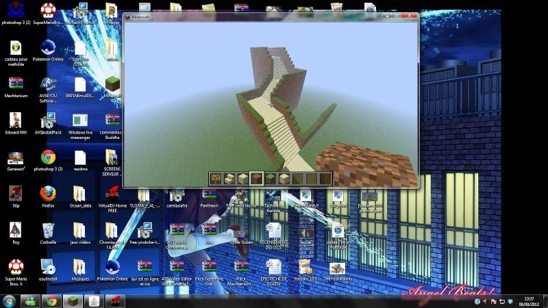 Vos creations sur Minecraft - Page 4 Escali13