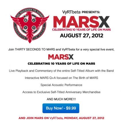 MARS X - 10 años  Marsx-10