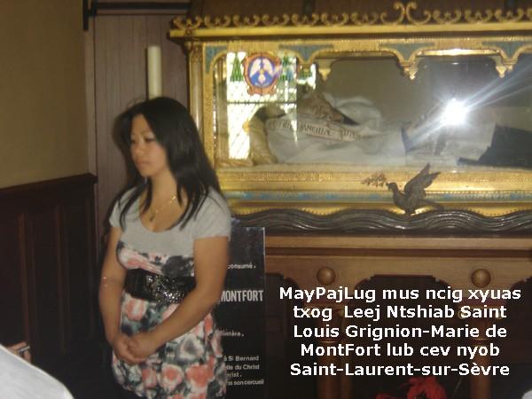 Los kuv coj nej mus xyuas tus Leej Ntshiab Saint Louis Grignion-Marie de Montfort  Dsc07515