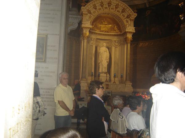 Saub Siab mus xyuas Saint Curé d'Ars  2010 Dsc07723