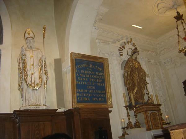 Saub Siab mus xyuas Saint Curé d'Ars  2010 Dsc07724