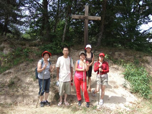 Taug  Hauv Paus Xa Lus Yas Kos txoj KEV  ( LEEJ NTSHIAB YAS KOS TUS HLOB), Route de St.Jacques de Compostelle Dscf1817