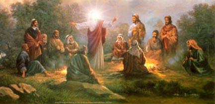 Yesxus mus teb chaws Madgaldag thiab hlawv ib tug mlom kub pov tseg Jesus-10