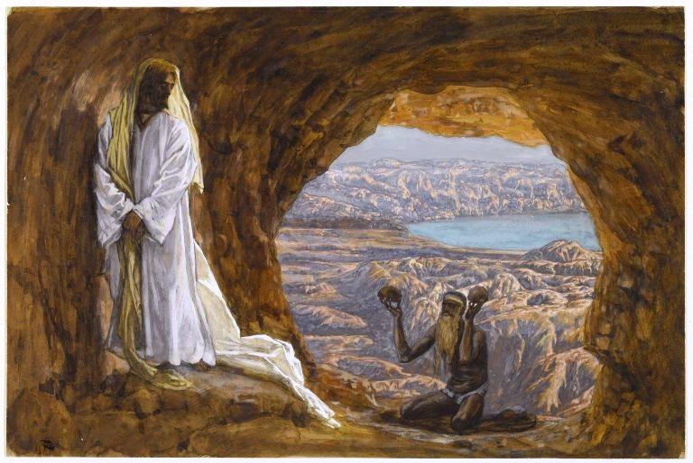 Dab xastas ntxias Yesxus hauv hav suab puam(vision de Maria Valtorta) Txiaj ntsim hauv Leej Pleev Evangile Tentat10