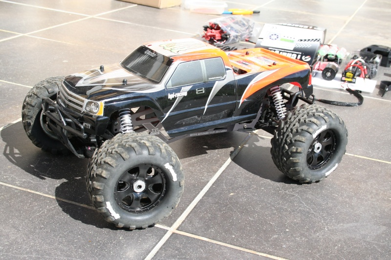Savage 25 brushless fait maison Savage10