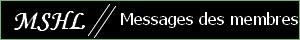 Messages des membres