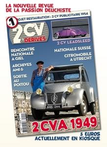 nouveau magazine pour deuche....num 1 en librairie.... 2cv_et10