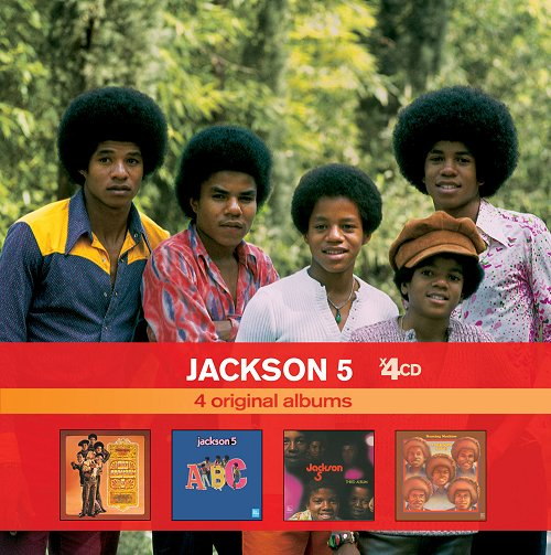 Coffret 4 CD Jackson 5... 4cd10