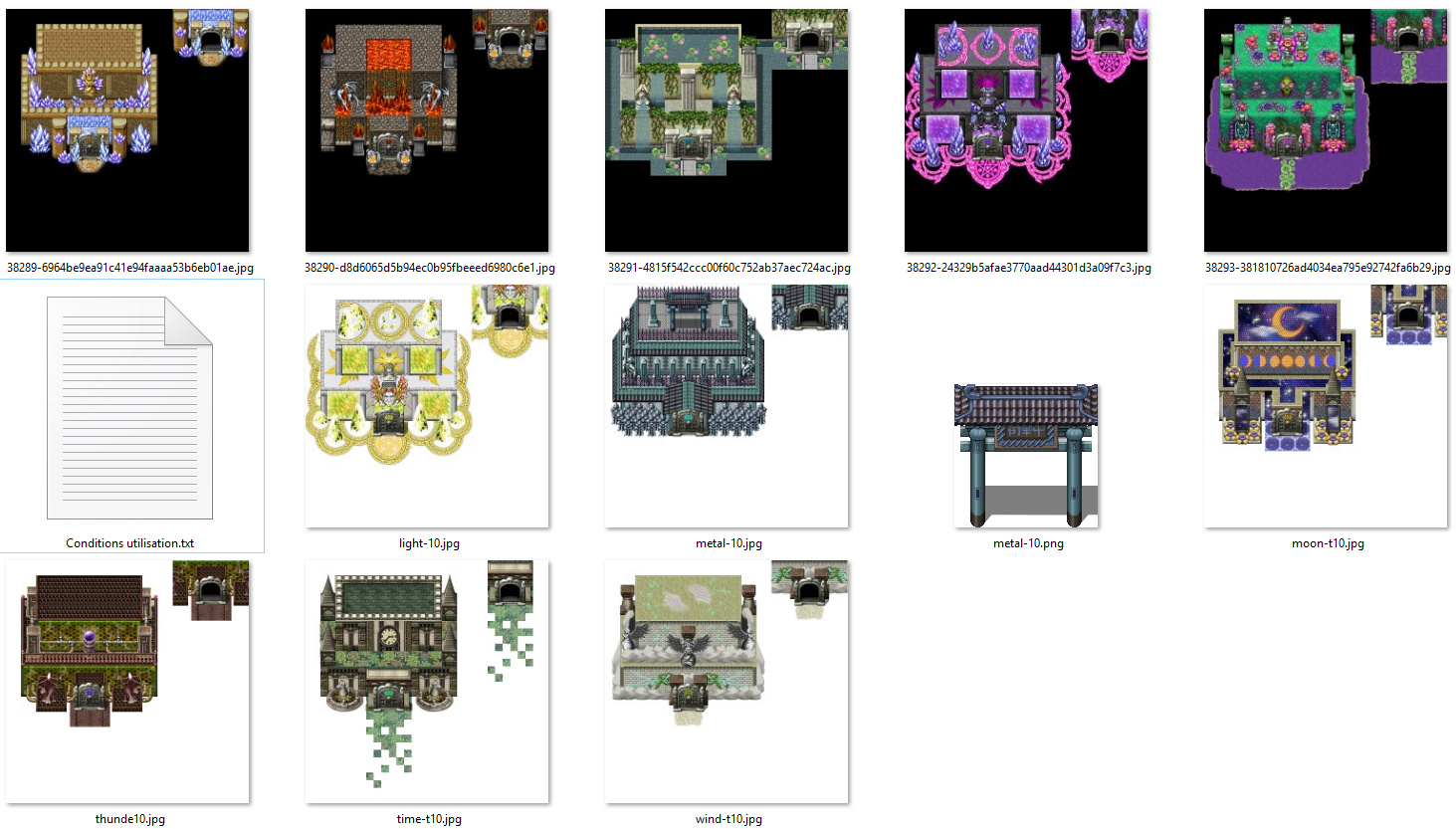 Pack de ressource RPG MAKER MV 0210