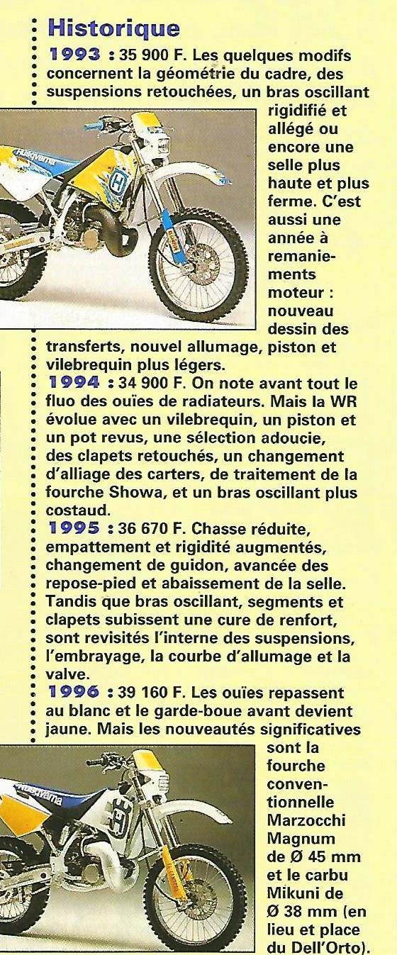 Avis sur Husqvarna 250 WR 1999 250_wr11