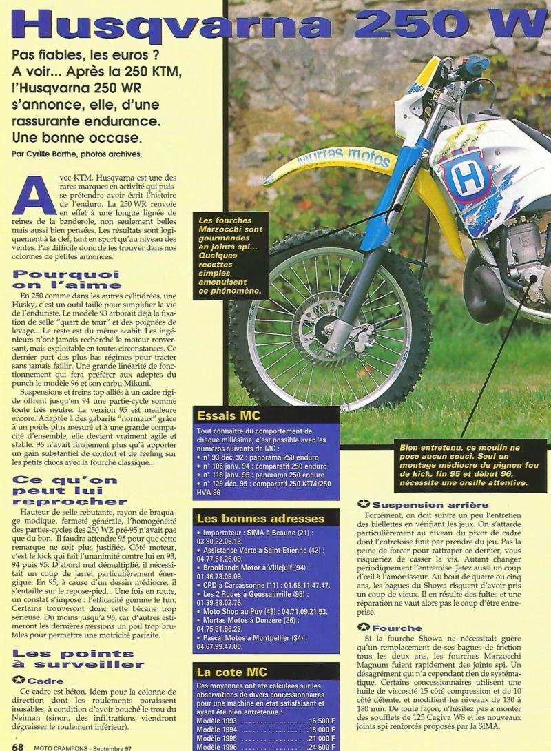 Avis sur Husqvarna 250 WR 1999 250_wr12