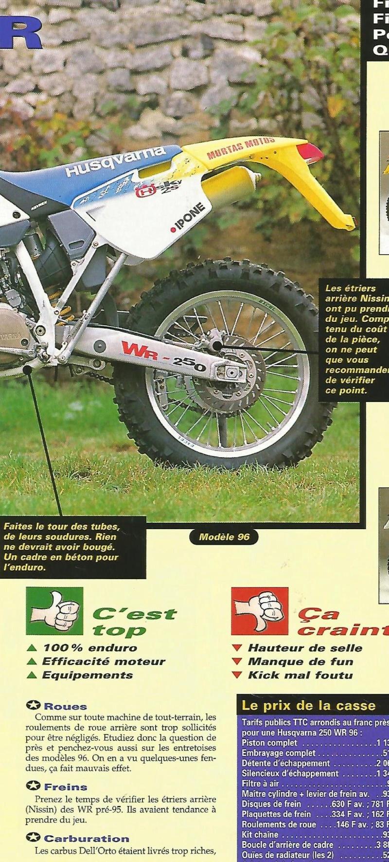 Avis sur Husqvarna 250 WR 1999 250_wr13