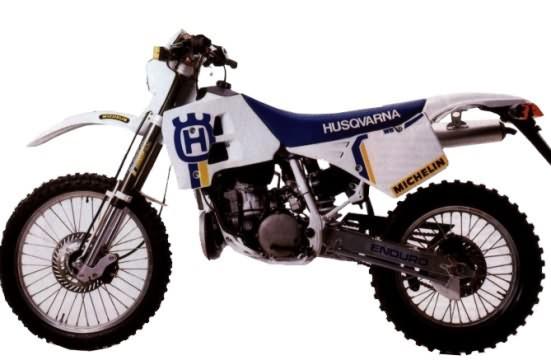 restauration shun59 husky 250 wr 1992 Husqva11