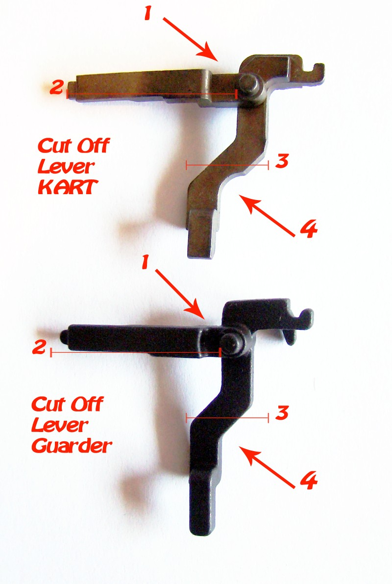 Problema con selector de tiro en M14 669 JAE-100 Kart Cut Off Lever a fondo Difere10