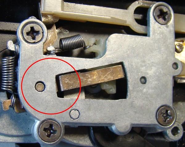 Problema con selector de tiro en M14 669 JAE-100 Kart Cut Off Lever a fondo Ejempl10