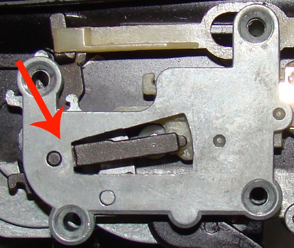 Problema con selector de tiro en M14 669 JAE-100 Kart Cut Off Lever a fondo Ejempl11