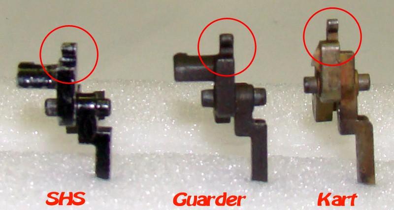 Problema con selector de tiro en M14 669 JAE-100 Kart Cut Off Lever a fondo Pestaa10