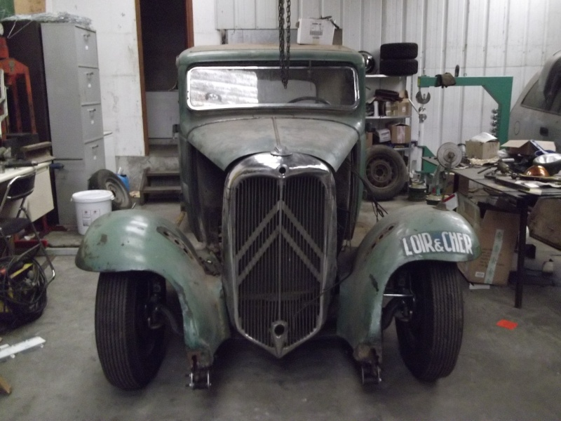 Citroen Rosalie pick-up 1933 : 1500€ Dscf2010
