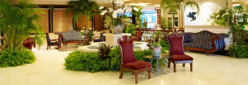 The Jamaica Pegasus Hotel Kingston jamaica. Lobby_10