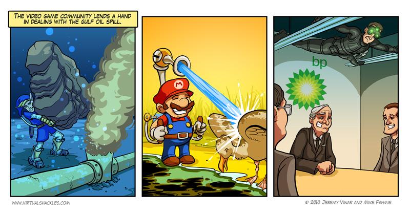 Images humoristiques ayant lien avec le jeu vidéo Quelle10
