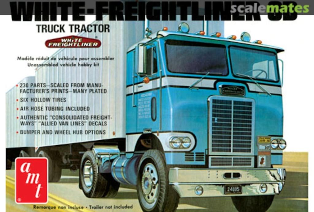 [AMT] 1/25 - White Freightliner SD 10155110