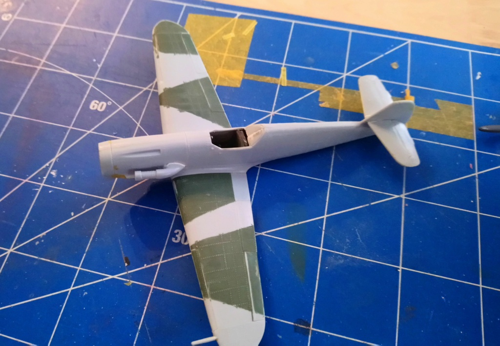 MESSERSCHMITT Bf 109 F4 Réf 80232 Dsc_0533