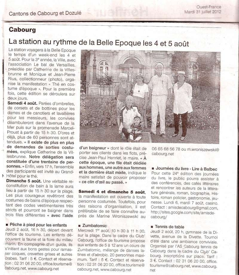 Presse du bal de Versailles - Page 3 Cabour11