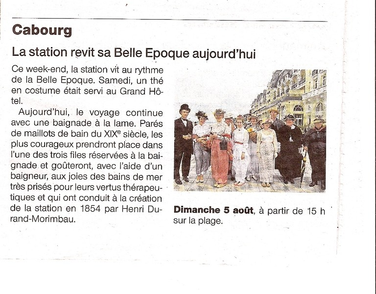 Presse du bal de Versailles - Page 3 Numari13