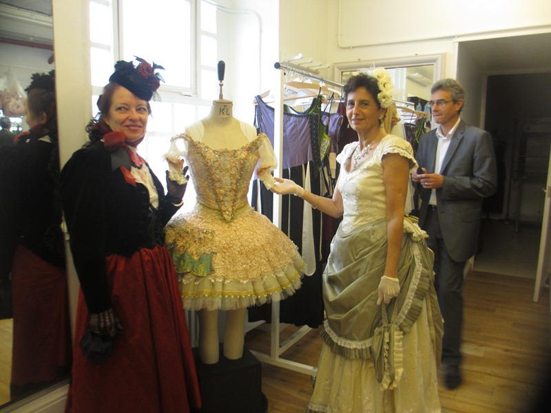 Visite des coulisses de l'opéra , les photos, Septembre 2012 Opara_36