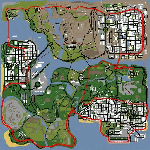 The Great SA Race :D Map10
