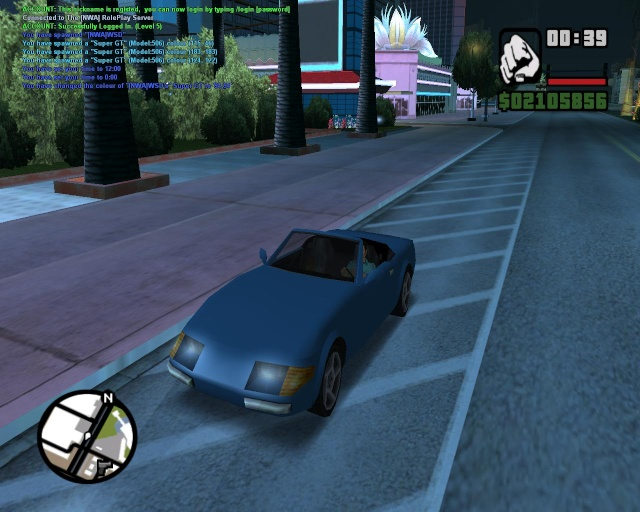 GTA VC Stinger in GTA SA Sa-mp-13
