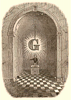The Masonic Letter G Middle10