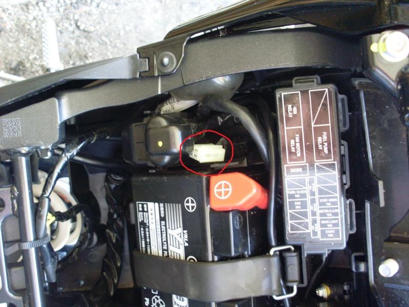 Montage centrale LED CB1000R SC60 compatible Faiceau Honda Sl370212