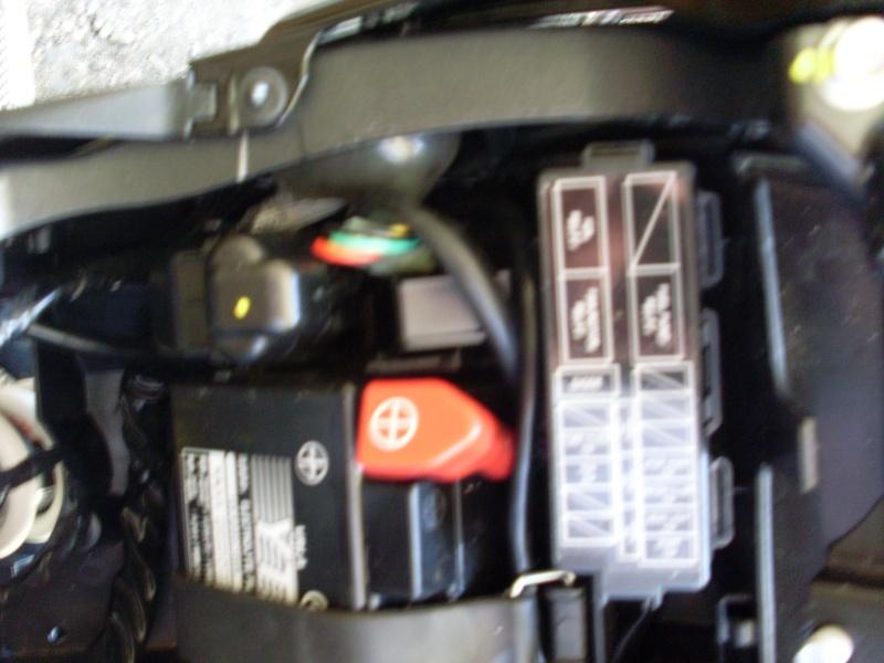 Montage centrale LED CB1000R SC60 compatible Faiceau Honda Sl370214