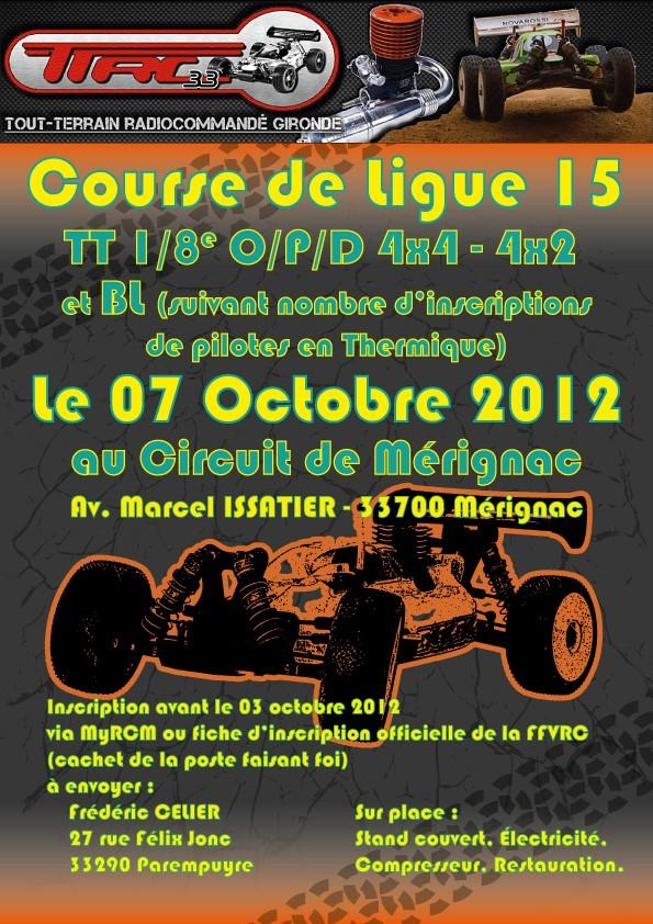 Course 4X2, 4X4 O/P/D + Brushless le 07 /10/2012 au TTRC 33  Affich11