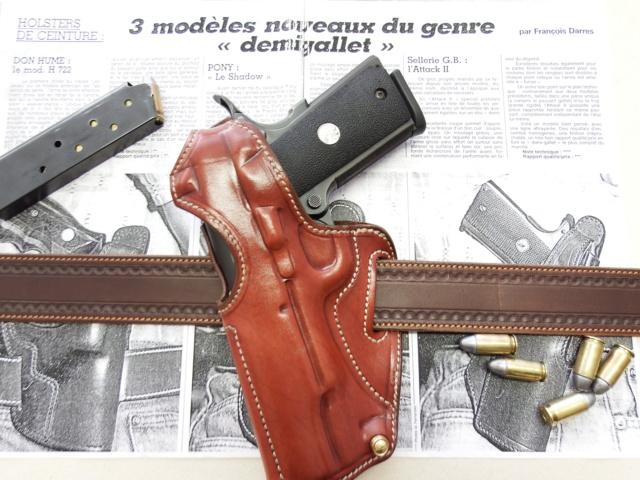 "HOLSTER ""ATTACK"" by La SELLERIE Dscf0418"
