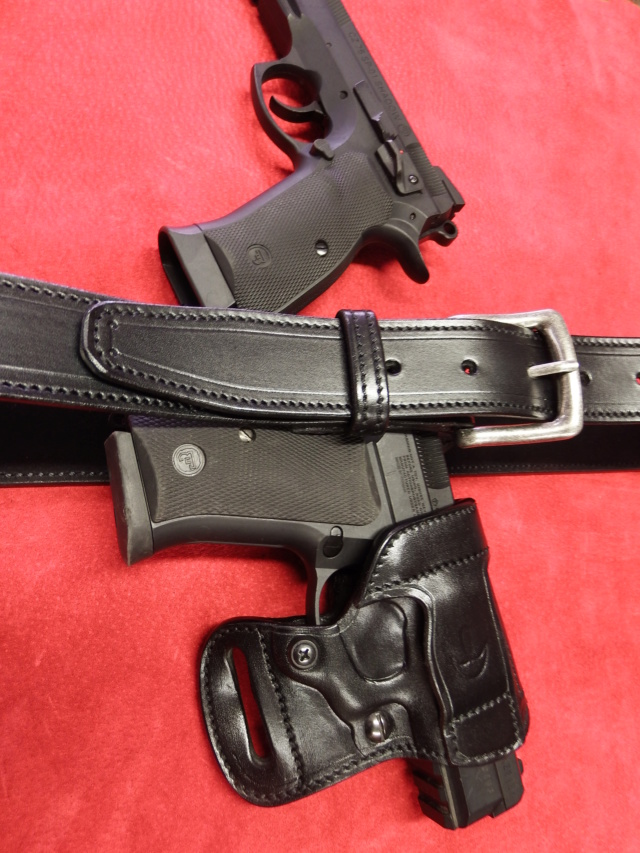 """HOLSTER AMBIDEXTRE : le """"PRACTIC"""" by SLYE - Page 2 Dscf1368"""