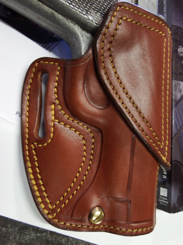 "HOLSTER CUIR  port civil : ""le 127"" by SLYE  Dscf1693"