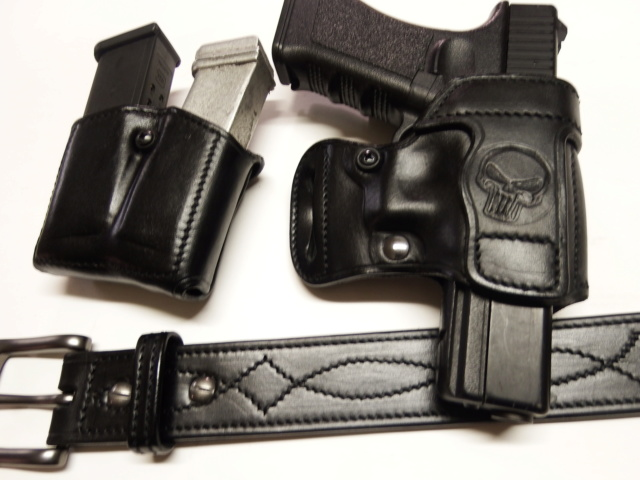 "HOLSTER AMBIDEXTRE : le ""PRACTIC"" by SLYE Dscf1838"