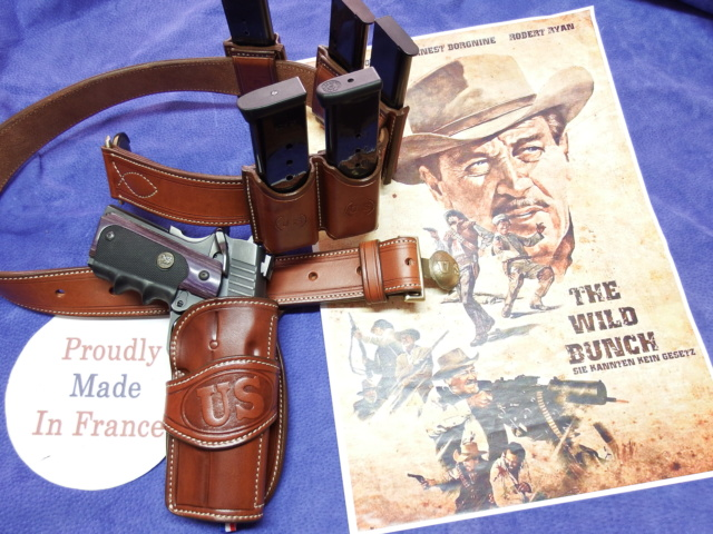 """ WILD BUNCH ""holster ""RANGER'S"" by SLYE  Dscf1874"