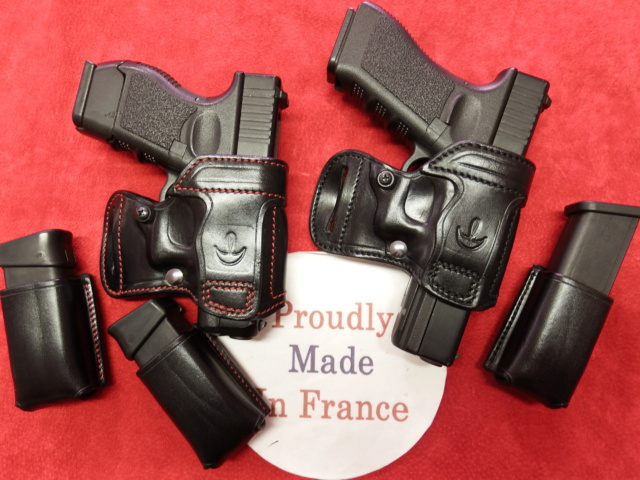 """HOLSTER AMBIDEXTRE : le """"PRACTIC"""" by SLYE - Page 2 Dscf2028"""