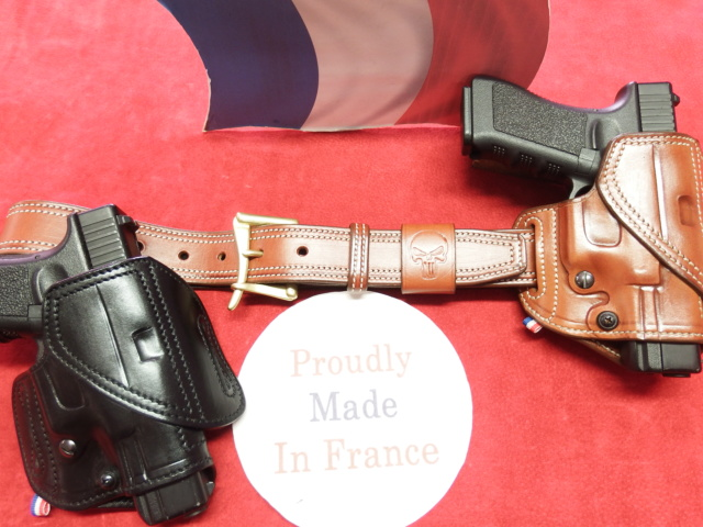 "HOLSTER CUIR  port civil : ""le 127"" by SLYE  Dscf2033"