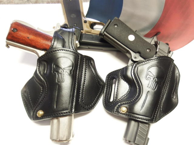 """HOLSTER CUIR type """"BAND AID"""" by La SELLERIE  Dscf2950"""