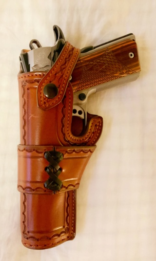 "HOLSTER  type ""HEISER"" by La SELLERIE Heiser10"